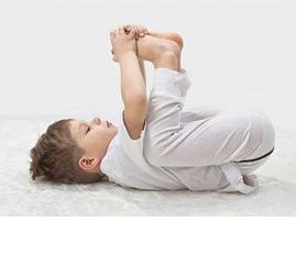 Ananda Balasana (Happy Baby Pose) - http://theyogakids.com/